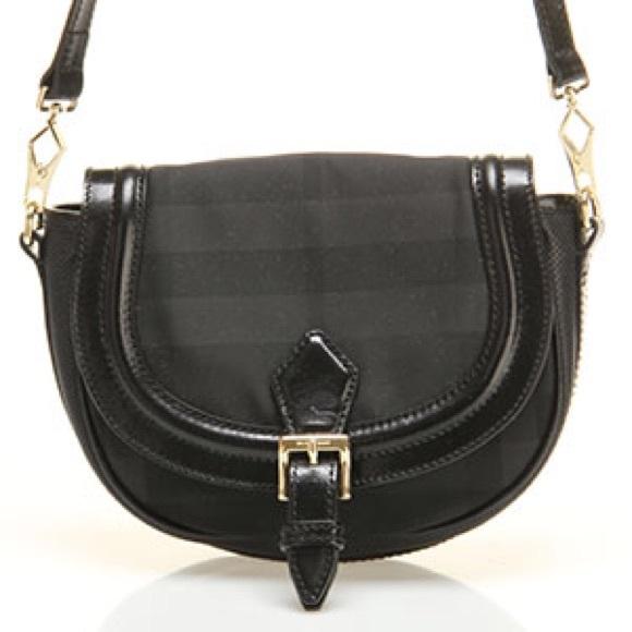 53b95623ec7f Burberry Handbags - BURBERRY ROSSLYN SADDLE CROSSBODY BAG